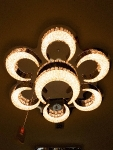 LED Lustra VISIONAL Luxury Lamps Collection 75W*2 / 9000 lm / 900 x 135 mm / VS-LUX-028 :: LED Griestu lampas / LED Lustras